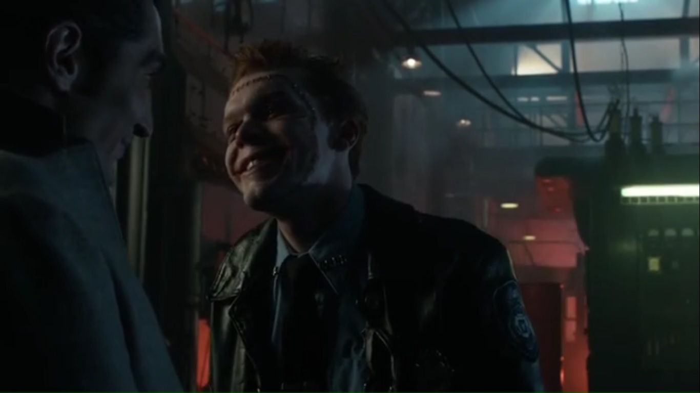 A Look At Gotham Season 3 Episode 13 Mad City Smile