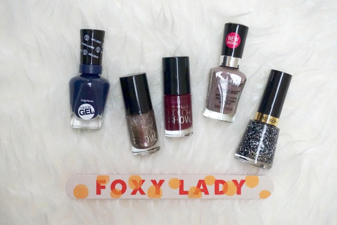 Top Five Fall Nail Polish Colors