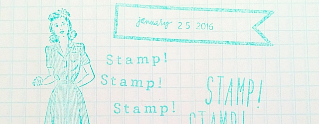 Rubber Stamp Starter Kit