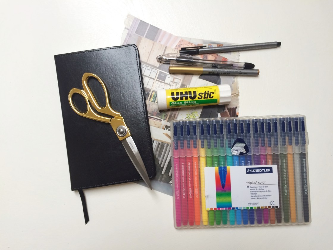 Visual Journaling Supplies