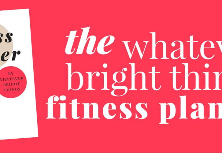 WBT Fitness Planner