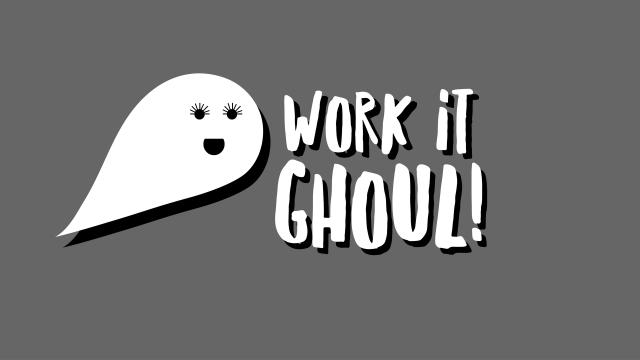 Work It Ghoul! Wallpaper