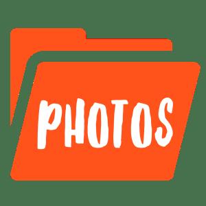 Photo Folder Pumpkin