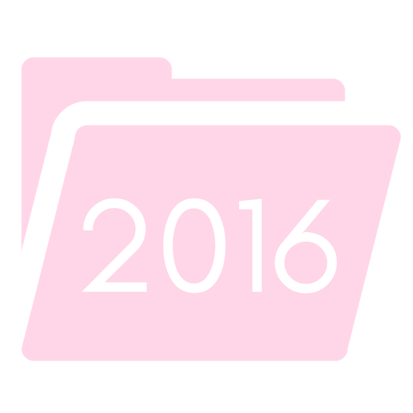Pink Folder 2016