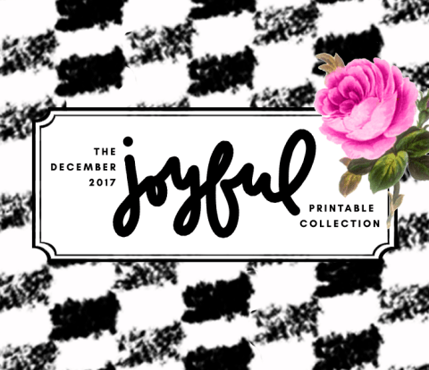 The Joyful Printable Papercrafting Collection