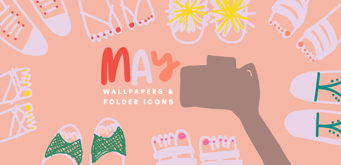 May 2018 Wallpapers Folder Icons