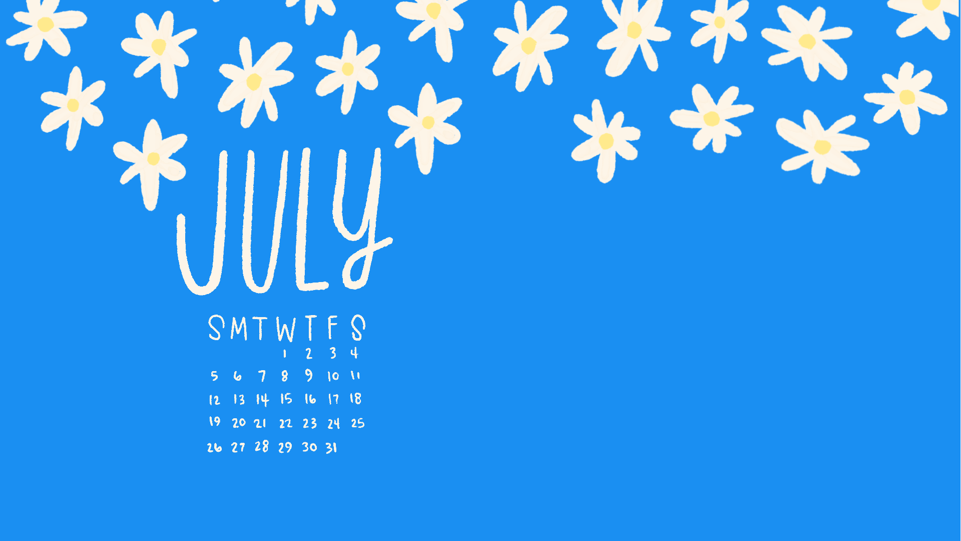 July 2020 Wallpapers & Folder Icons - Whatever Bright Things