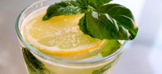 gin basil lemonade