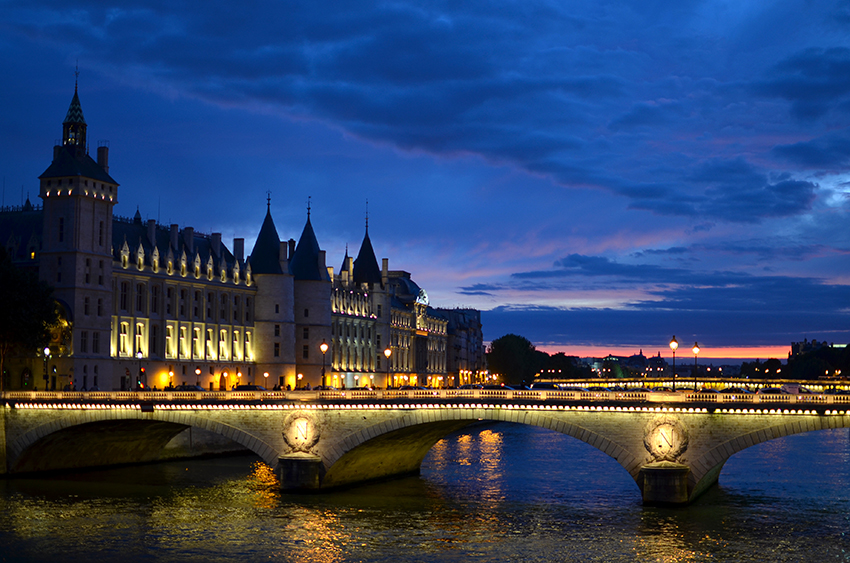 Les Jolies Choses // Paris, coucher de soleil