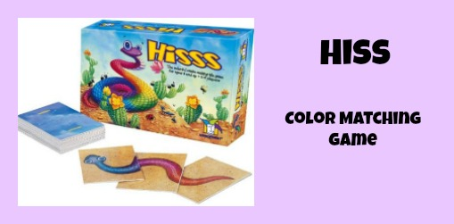 hiss color matching game