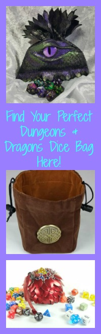 dungeons dragons dice bags