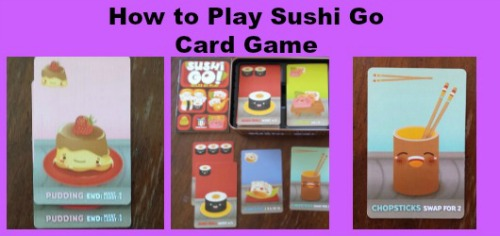 how to play sushi go card game