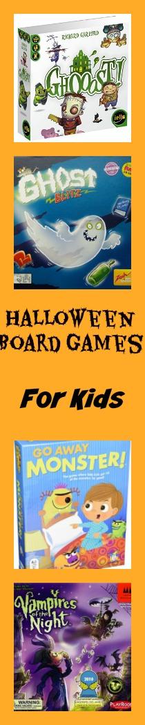 halloween board games for kids