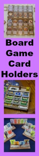 board game card holder