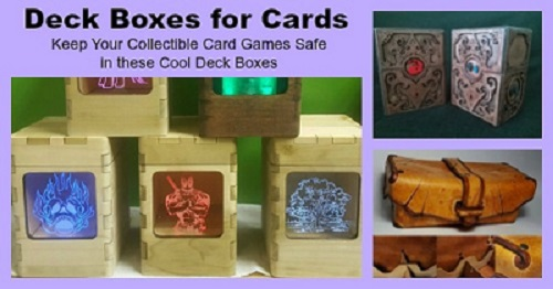 deck boxes for cards