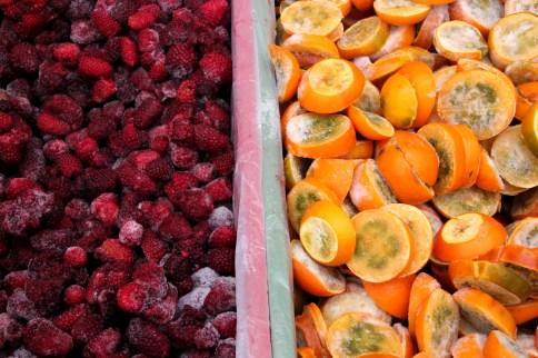 frozen fruit!