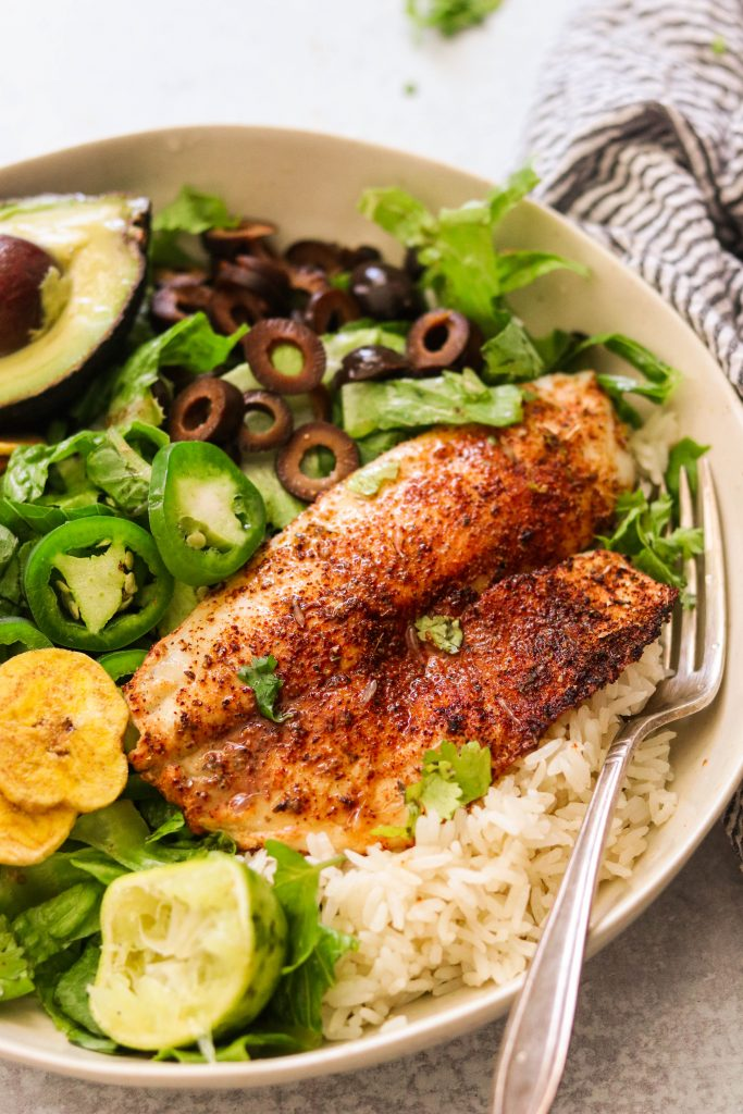 Chili Lime Tilapia in the Air Fryer