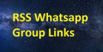 List of Best RSS Whatsapp Group Links 2020-21