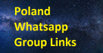 800+ Poland Whatsapp Group Links 2020-21
