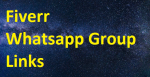 2100+ Fiverr Whatsapp Group Links 2020-21