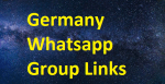 Germany Whatsapp Group Links 2020-2021