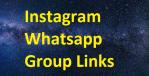 Best Instagram Whatsapp Group Link 2021