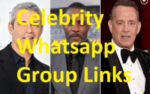 Celebrity Whatsapp Group Links