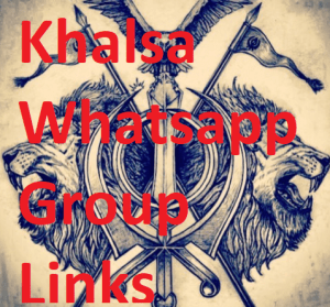 Khalsa Whatsapp Group Link, Sikh Whatsapp Group Links