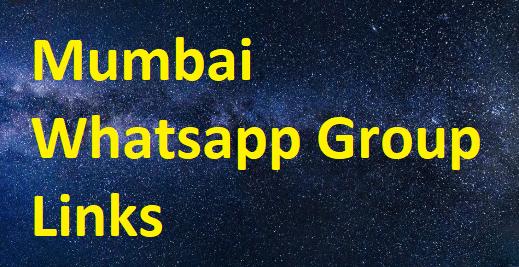 Mumbai Whatsapp Group Links