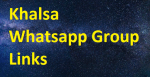 Khalsa Whatsapp Group Links Free