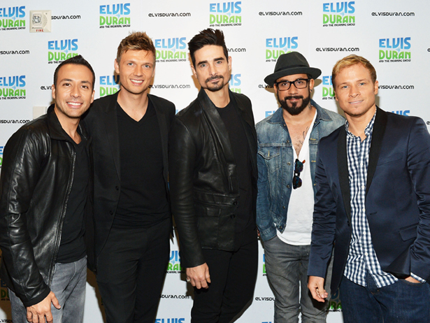 Backstreet Boys Visit Elvis Duran Z100 Morning Show