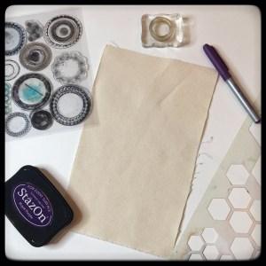 Mixed Media Bag Charms Materials