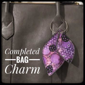 Mixed Media Bag Charms Complete
