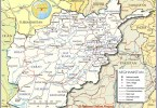 Political Map of Afghanistan