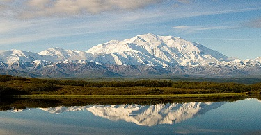 Denali highest point of US
