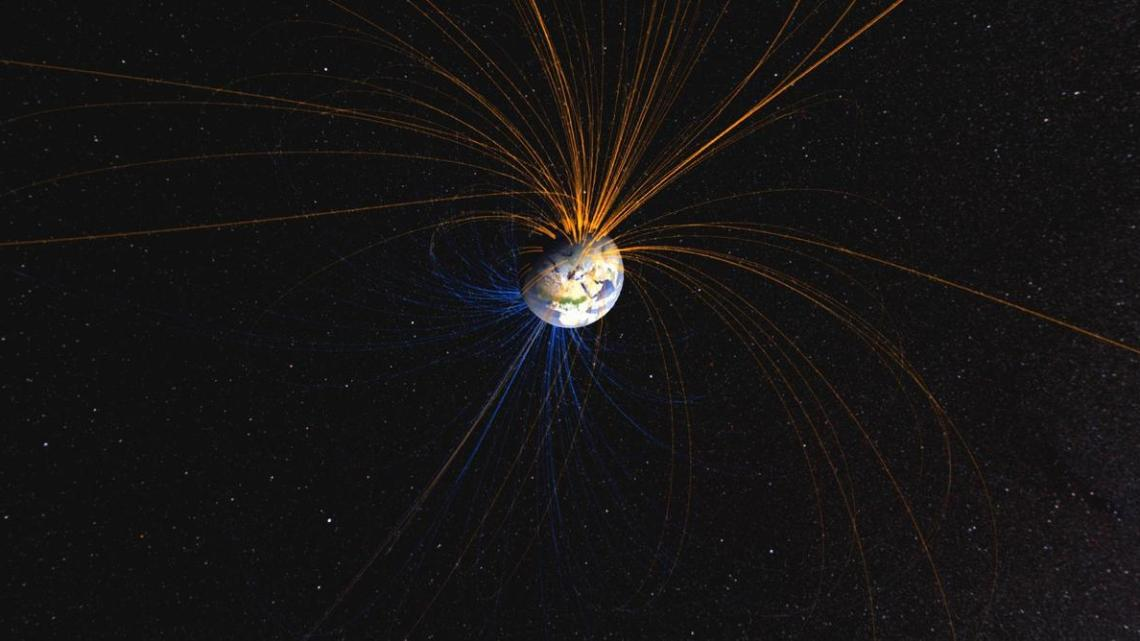 What if Earth's Magnetic Poles Flip