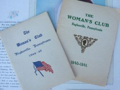 Women's Club books