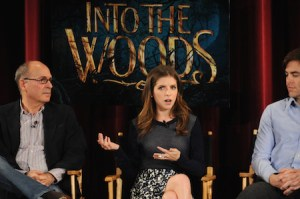 "Cast And Filmmakers Q&A At Screening Of ""Into To Woods"""