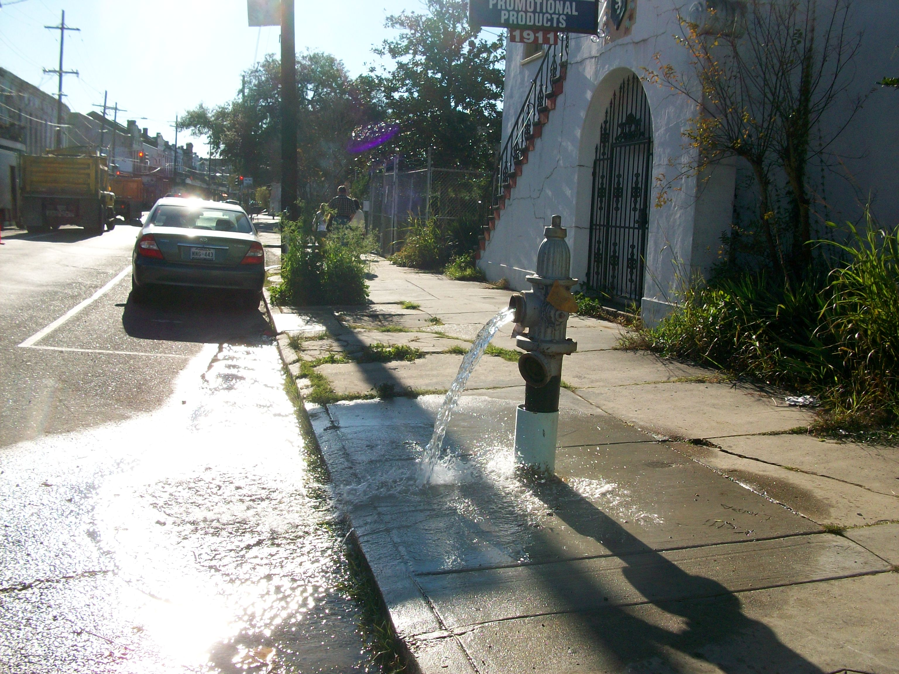 Fire Hydrant at St. Mary's and Magazine