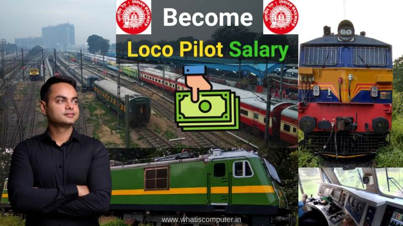 Loco/Assistant Pilot Salary: How to Become Loco Pilot? Qualification, Age, Exam Syllabus Pattern