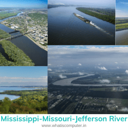what is the longest river in the united states, Mississippi-Missouri-Jefferson River
