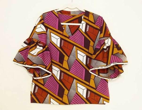African Wax top