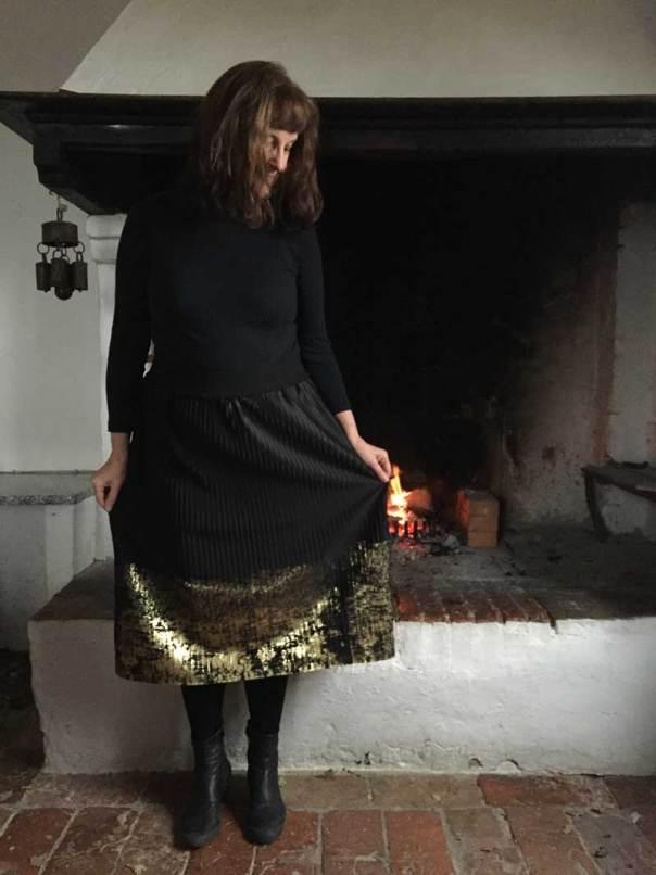 plissé skirt Lotte Martens