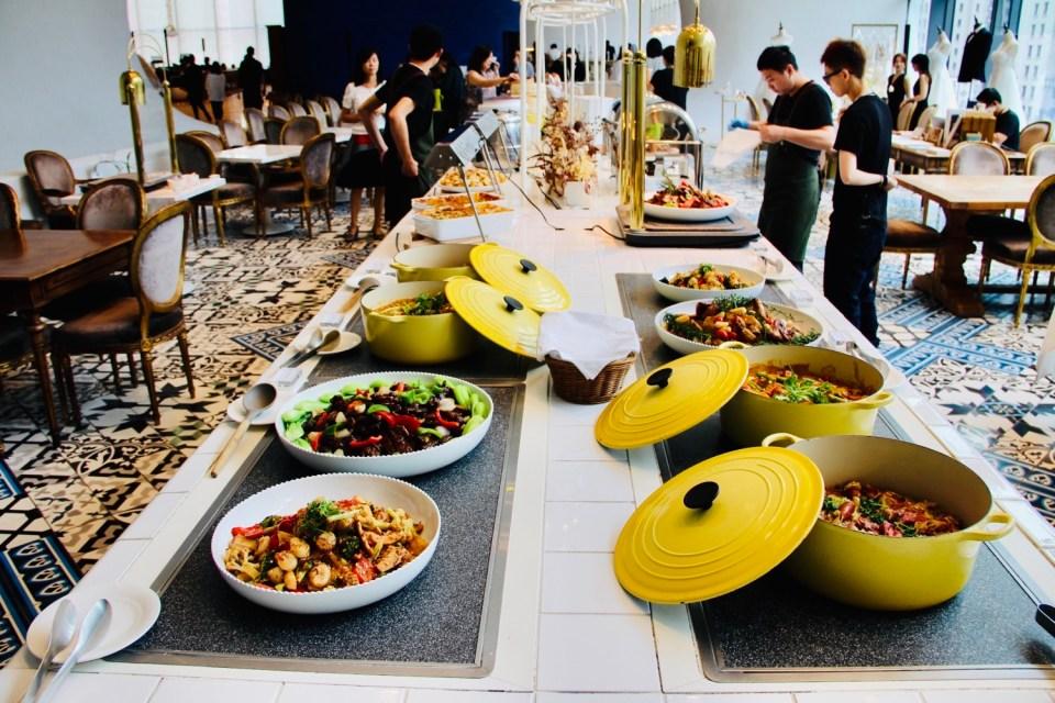 台中 餐廳 | VVG Food Play好樣食藝 在國家歌劇院辦婚宴超有面子 隨手拍出網美照 Buffet婚宴超豪邁 –伊康日常