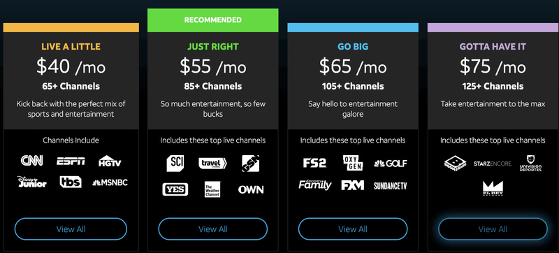 Subscribe to DirecTV Now