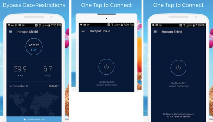 Hotspot Shield Android App