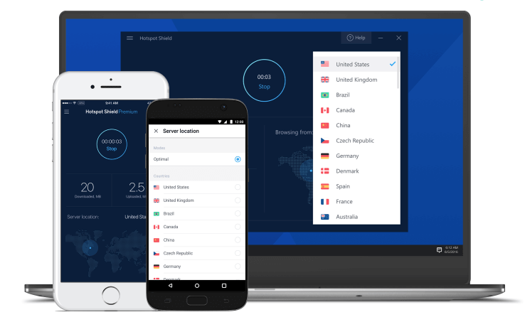 Apps for Hotspot Shield