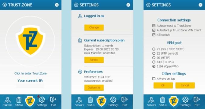 Install Trust.Zone Apps