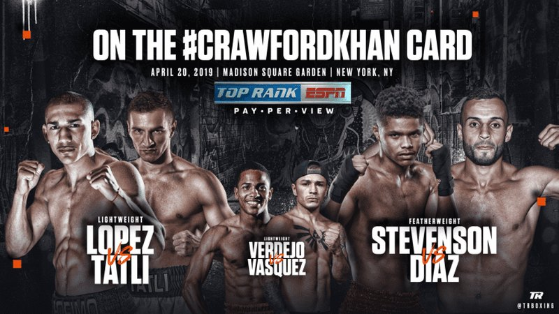 Stream Crawford vs Khan Anywhere with VPN