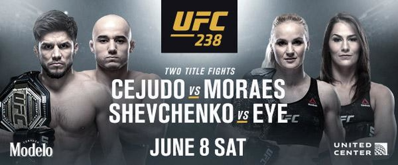 Watch UFC 238 from Anywhere Using VPN
